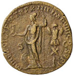 Commodo (180-192) Sesterzio – Testa ...