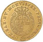 SAVOIA Carlo Emanuele III (1730-1773) Mezza ...