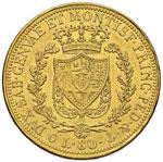 Carlo Felice (1821-1831) 80 Lire 1824 G – ...