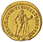 Massimiano (285-305) Aureo (Carthago) Testa ...