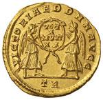 Costante (337-350) Solido (Treviri) Busto ...