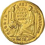 Costanzo II (335-360) Solido (Sirmium) Busto ...