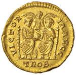 Magno Massimo (383-388) Solido (Treviri) ...