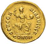 Teodosio I (379-395) Solido (Costantinopoli) ...