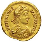 Onorio (395-423) Solido ...