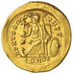 Teodosio II (408-450) Solido ...