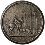 MEDAGLIE BAROCCHE TOSCANE Francesco III di ...