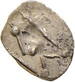 LUCANIA Sibari - Obolo (560-510 a.C.) Toro a ...