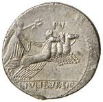 Julia – L. Julius Bursio - Denario (85 ...