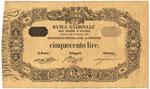 Banca Nazionale nel Regno d'Italia – 500 ...