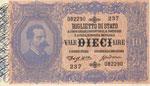 Biglietti di Stato 10 ...