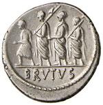 Junia – M. Junius Brutus - Denario (54 ...
