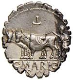 Maria – C. Marius C. f. Capito - Denario ...