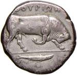 LUCANIA Thurium - Distatere (fine IV sec. ...