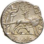Pompeia – Sex. Pompeius Fostlus - Denario ...