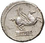 Titia – Q. Titius - Denario (90 a.C.) ...