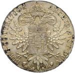 AUSTRIA Tallero 1780 Riconio - AG