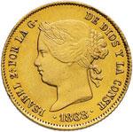 FILIPPINE 4 Pesos 1868 - ...