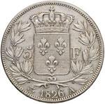 FRANCIA Carlo X (1824-1830) 5 Franchi 1826 A ...