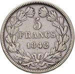 FRANCIA Luigi Filippo (1830-1848) 5 Franchi ...