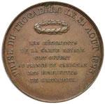Savoia Carlo Alberto Medaglia 1823 Presa del ...