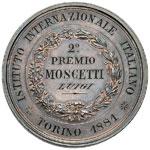 Umberto I Medaglia premio 2° premio a Luigi ...