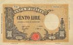 Banca d'Italia 100 ...