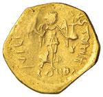 Giustiniano I (527-565) Tremisse - Busto ...
