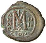 Giustino II (565-578) Follis ...
