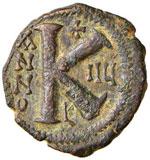 Giustino II (565-578) Mezzo follis ...