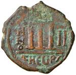 Tiberio II Costantino (578-582) Follis ...