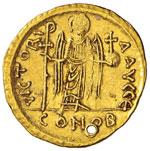 Maurizio Tiberio (582-602) Solido - Busto di ...