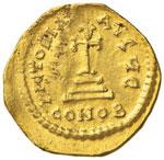 Eraclio (610-641) Solido - Busti di fronte - ...