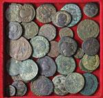 Lotto di 33 monete antiche varie. Non si ...