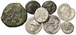 Lotto di otto monete. Non si accettano resi