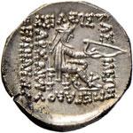Mitridate II (123-88 a.C.) Dracma - Busto ...