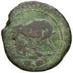 Anonime - Sestante (217-215 a.C.) Lupa a d. ...