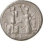 Furia - M. Furius L. f. Philus - Denario ...