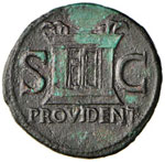 Augusto (27 a.C.-14 d.C.) Asse - Testa ...
