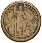 Paolo IV (1555-1559) Medaglia Roma resurgens ...