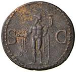 Agrippa - Asse - Testa a sinistra - R/ ...