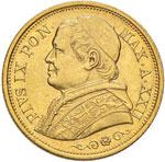 Pio IX (1846-1878) 20 ...