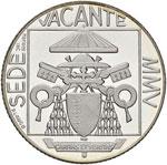 Sede Vacante 2005 5 Euro ...