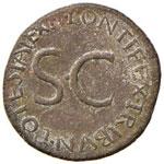 Tiberio (14-37) Asse - Testa a d. - R/ SC ...