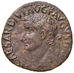 Tiberio (14-37) Asse - ...