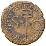 Tiberio (14-37) Asse - Testa a sinistra - R/ ...