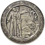 Medaglia San Francesco riceve dal conte ...