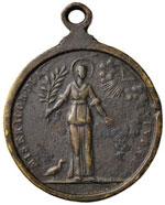 Medaglia Misericordia Divina - CU (g 26,54 - ...