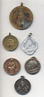 Lotto di 6 medaglie ...