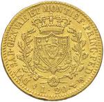 Carlo Felice (1821-1831) 20 Lire 1825 T - ...